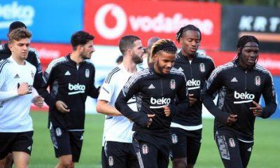 Beşiktaş Borussia Dortmund maçına hazır!