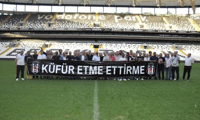 Beşiktaş'tan küfür etme ettirme kampanyası!