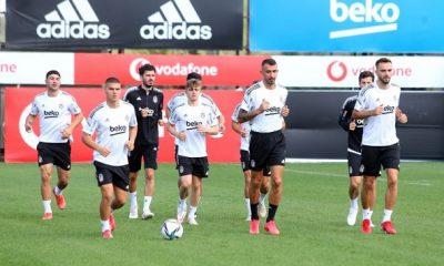 Beşiktaş'ta Antalyaspor maçı hazırlıkları başladı